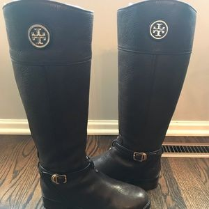 Tory Burch Teresa Riding Boot - Tumbled Leather